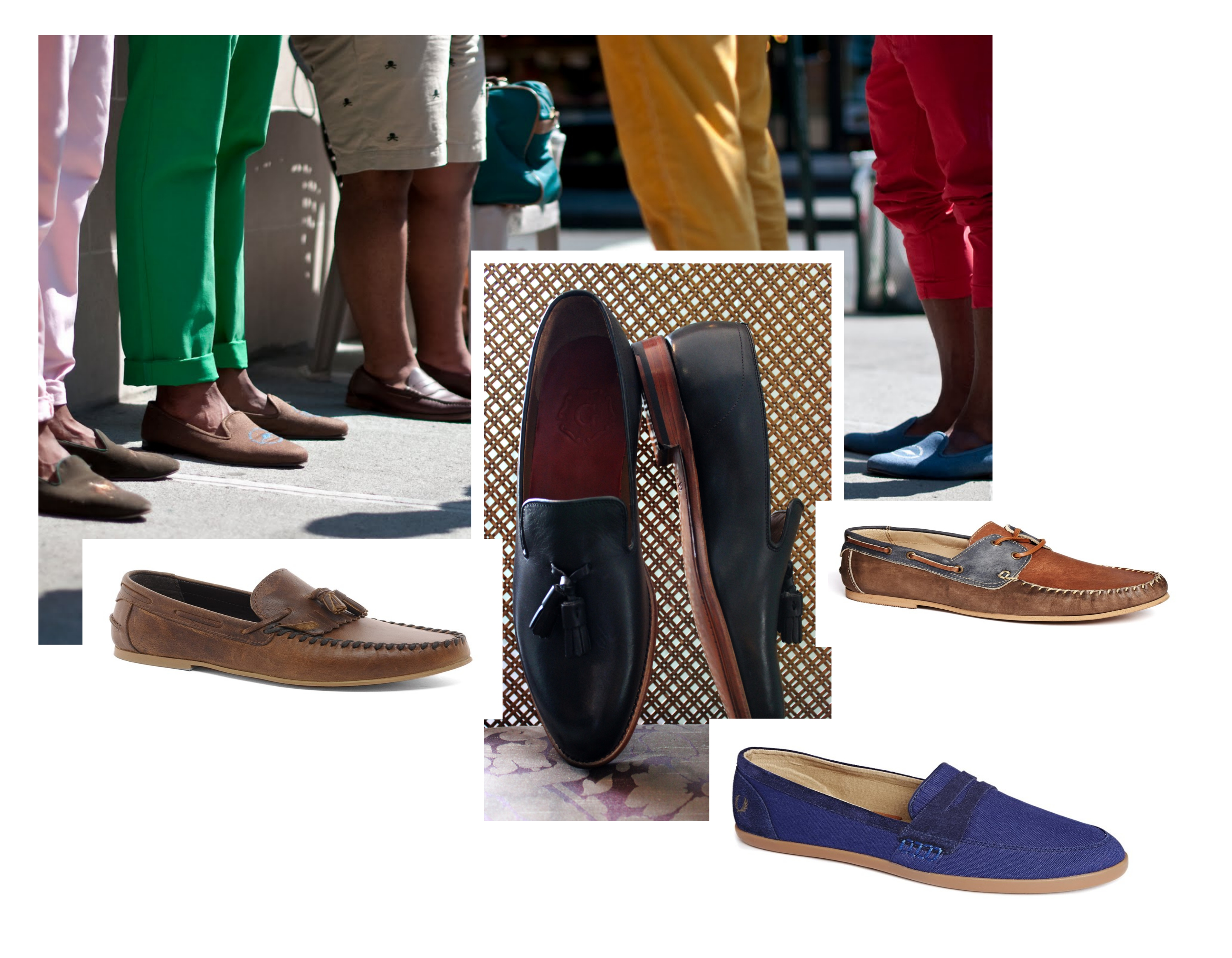 loafers en moccasin Collage
