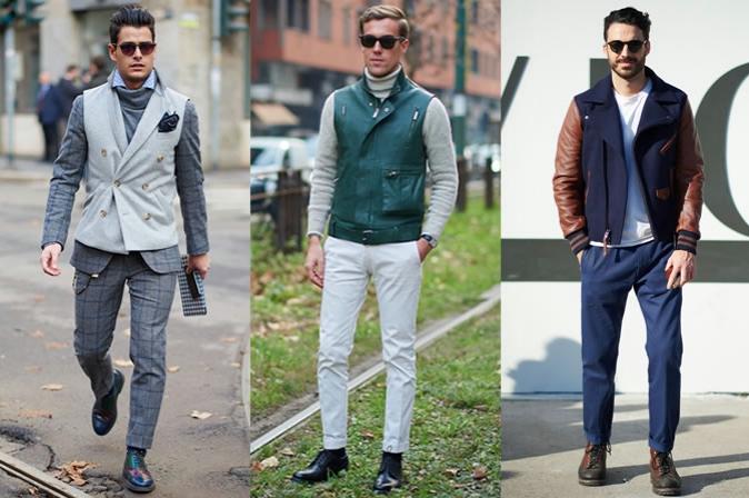 contrast sleeves