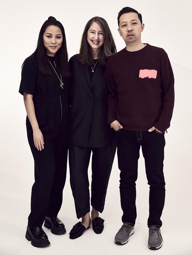 foto: Carol Lim, Ann-Sofie Johansson & Humberto Leon
